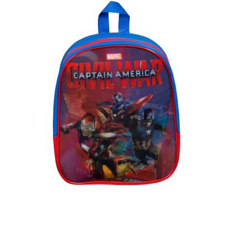Marvel Captain America Lenticular Backpack - Blue