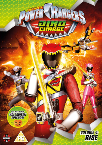 Power Rangers Dino Charge: Rise (Volume 4) Episides 13-17 (Incl. Halloween Special)
