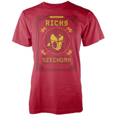 Szechuan Teryaki Dipping Sauce Red T-Shirt