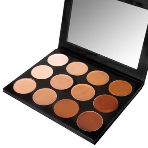 mehron Celebre Pro HD Cream Highlight/Contour 12 Color Palette 42g