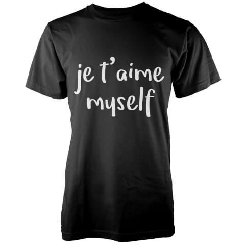 Je T'aime Myself T-Shirt - Black