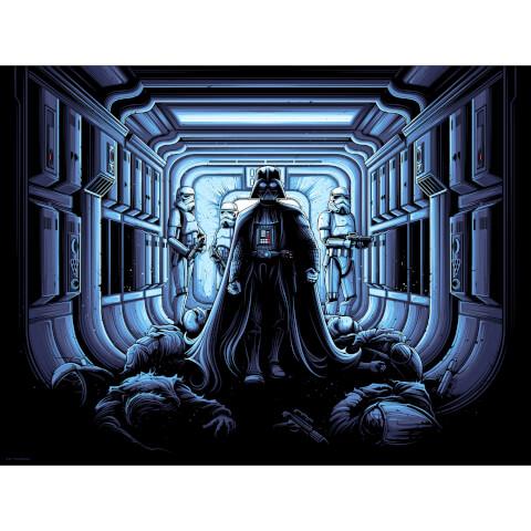 Star Wars - I Find Your Lack of Faith Disturbing Print by Dan Mumford (450mm x 610mm)