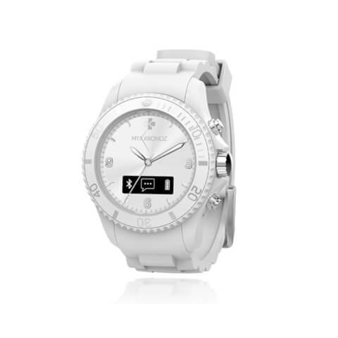 MyKronoz Zeclock Bluetooth Smart Watch - White