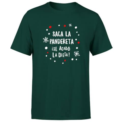 Saca La Pandereta T-Shirt - Forest Green