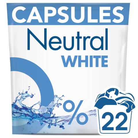 Neutral White Washing Capsules - 22 Wash 583g