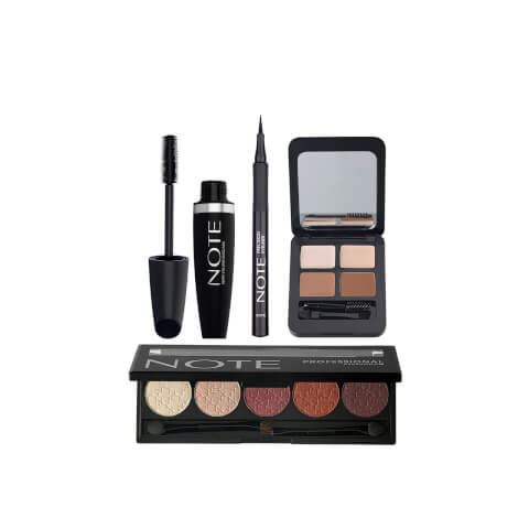 Note Cosmetics Deluxe Eye Bundle - Blonde
