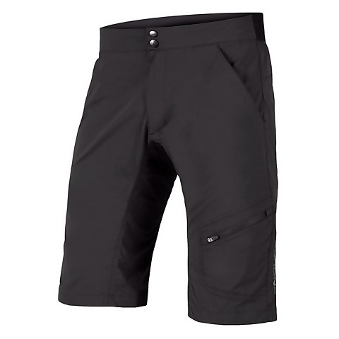 Hummvee Lite Short with Liner - Black