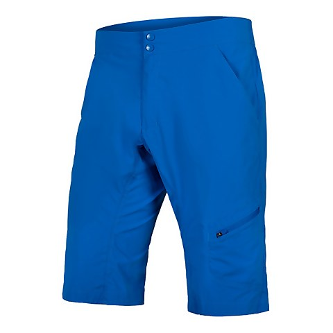 Hummvee Lite Short with Liner - Azure Blue