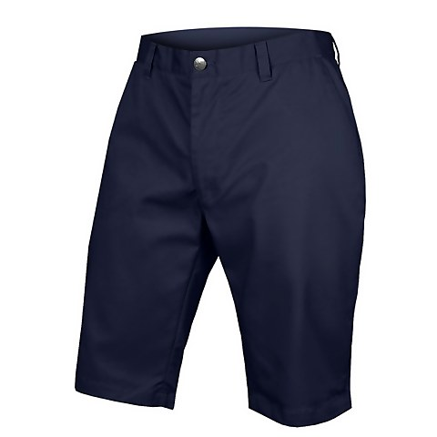 Hummvee Chino Short with Liner Short - Navy