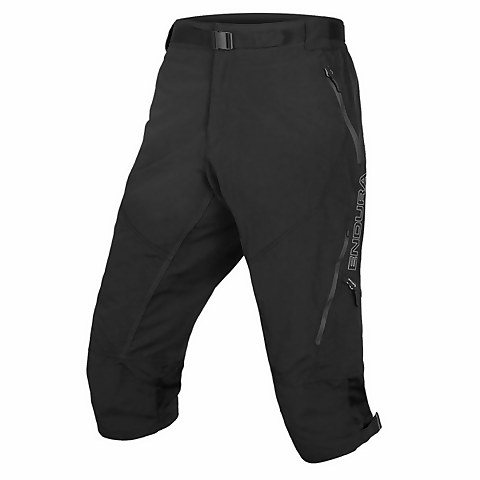 Hummvee 3/4 Short II with liner - Black