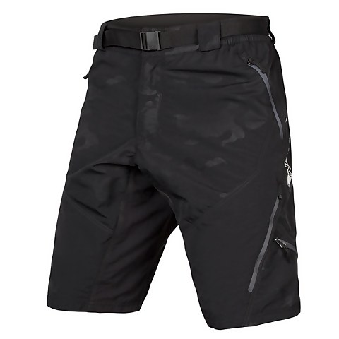 Hummvee Short II with liner - Black Camo