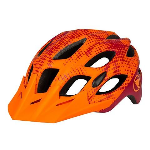Hummvee Youth Helmet - Tangerine