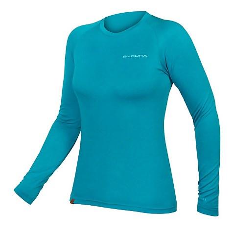 Women's BaaBaa Blend L/S Baselayer - Pacific Blue