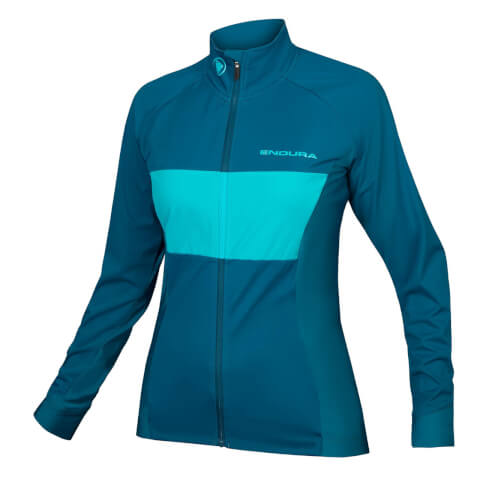 Women's FS260-Pro Jetstream L/S Jersey II - Kingfisher
