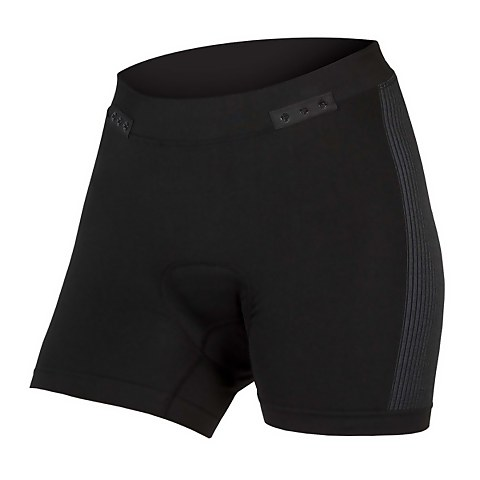 Women's Engineered Padded Boxer with Clickfast - Black