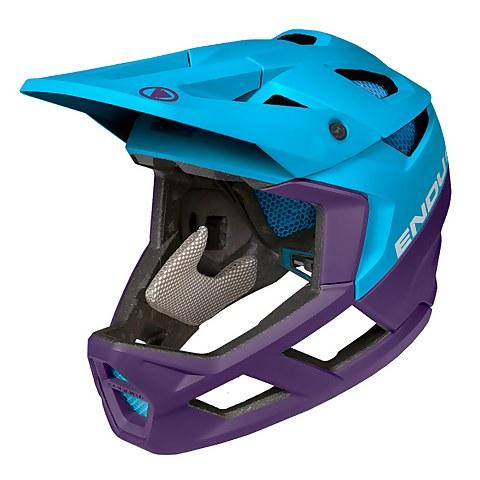 MT500 Full Face Helmet - Electric Blue
