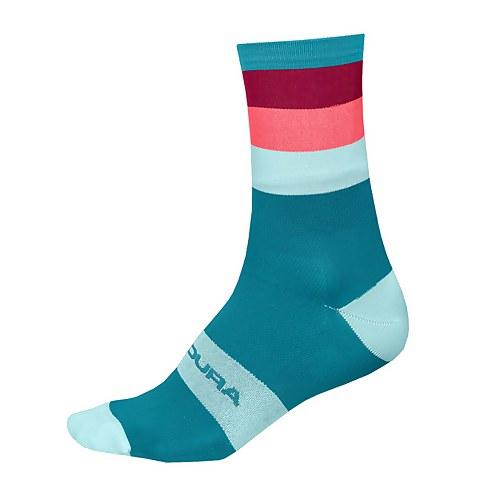 Bandwidth Sock - Blue Paisley