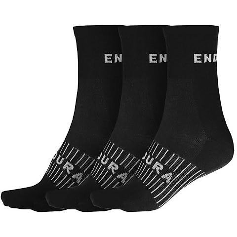 Coolmax® Race Sock (Triple Pack) - Black