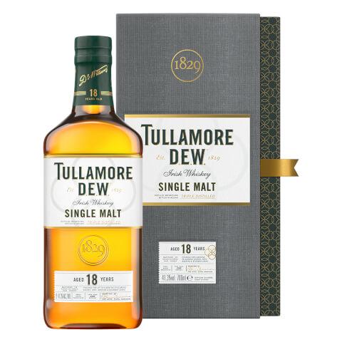 Tullamore D.E.W. 18 Year Old Single Malt Irish Whiskey 70cl