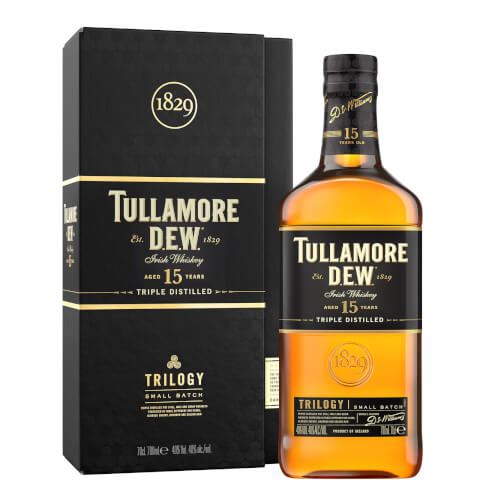 Tullamore D.E.W. 15 Year Old Trilogy Small Batch Irish Whiskey 70cl