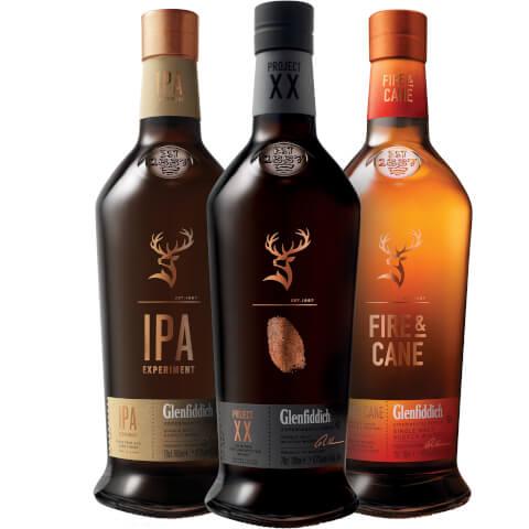 Glenfiddich Single Malt Scotch Whisky Experimental Series Collection