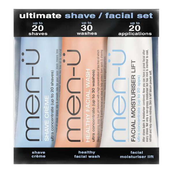 Coffret visage Ultimate Shave men-ü - 15 ml (3 produits)
