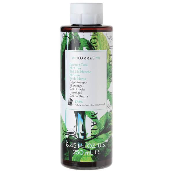 Gel douche au thé à la menthe de KORRES (250 ml)