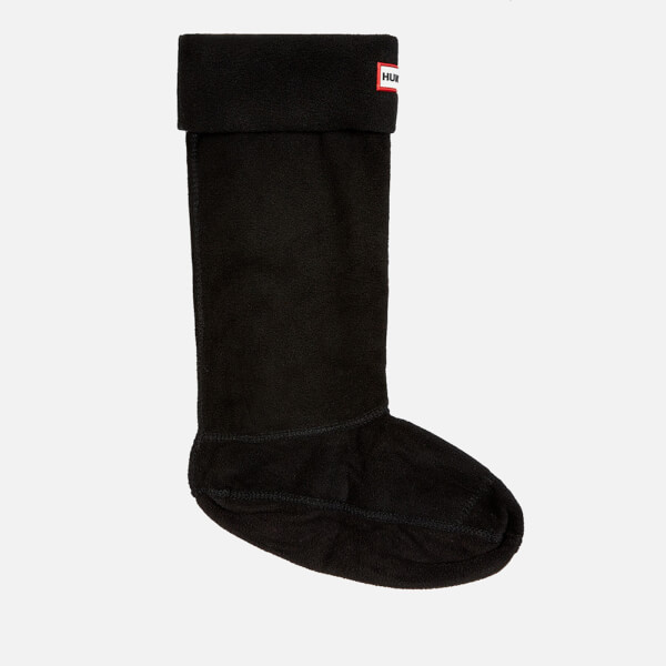 Hunter Unisex Fleece Welly Socks - Black