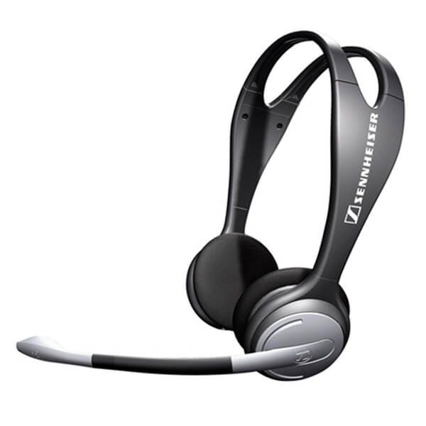 sennheiser pc 131 on ear gaming headset with noise cancelling mic black electronics. Black Bedroom Furniture Sets. Home Design Ideas