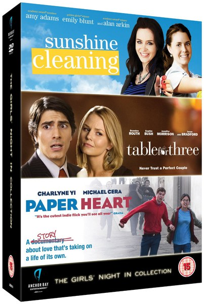 Girls' Night In Collection (Sunshine Cleaning / Paper Heart / Table For Three)