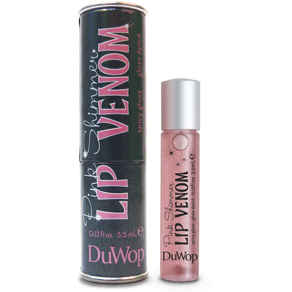 Duwop Lip Venom Pink Shimmer Gloss repulpant Rose brillant (3,5 ml)