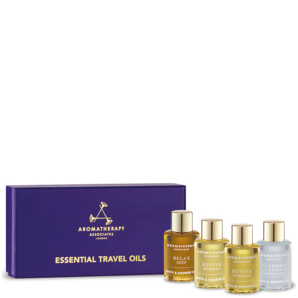 Aromatherapy Associates Essential Bath & Shower Oils 3x .31oz