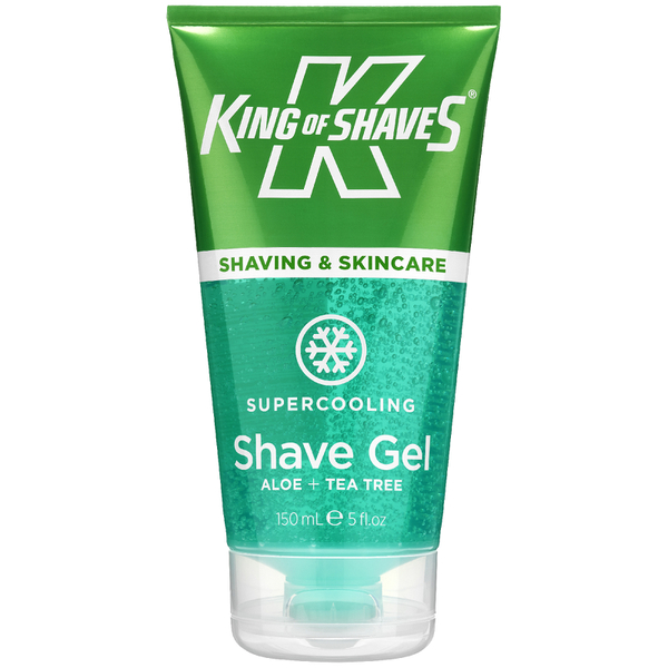 Gel de Rasage Rafraichissant King of Shaves 150ml