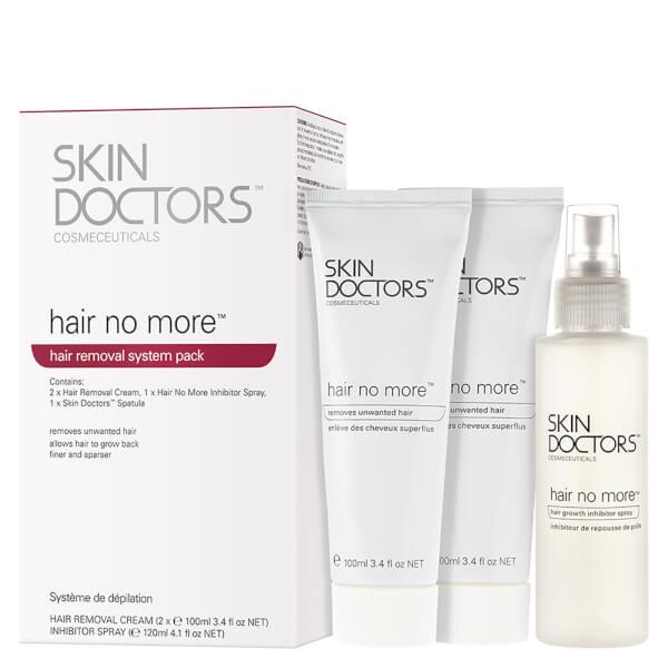 Skin Doctors Hair No More Hair (3 Products) Système d'Epilation (3 produits)