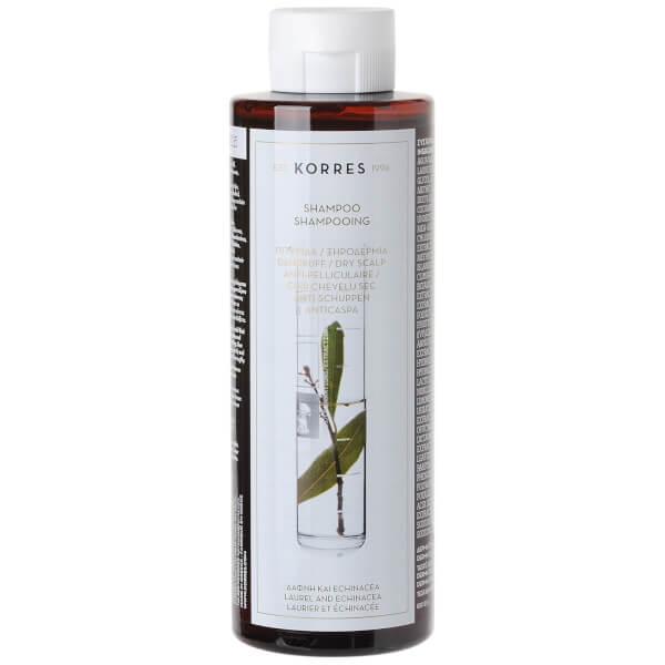 KORRES Laurel & Echinacea Shampoo Against Dandruff And Dry Scalp (250 ml)