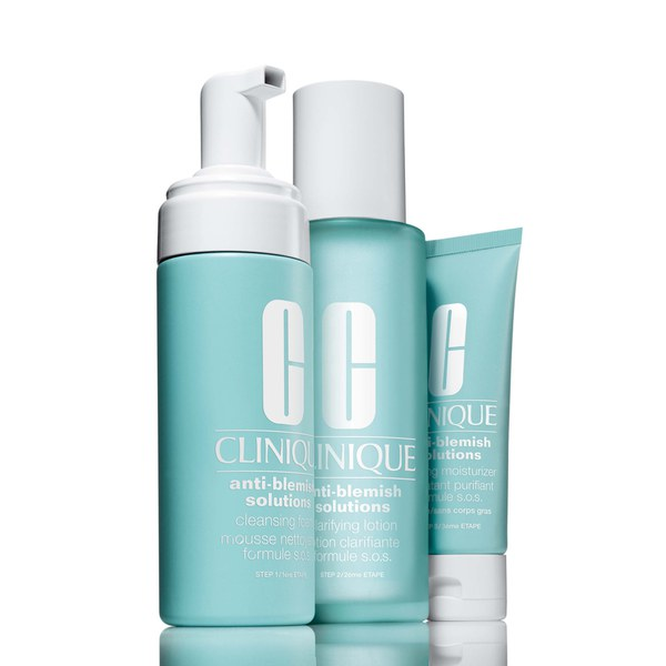 Clinique Anti Blemish Solutions 3 Step System coffret anti-imperfections