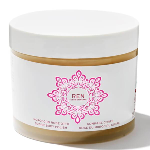 REN Moroccan Rose Otto Sugar Body Polish