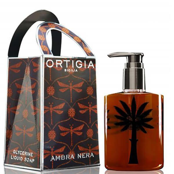Jabón Líquido Ambra Nera deOrtigia300 ml