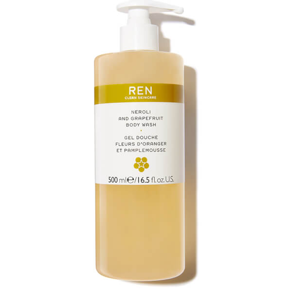 REN Neroli And Grapefruit Zest Body Wash (200ml)