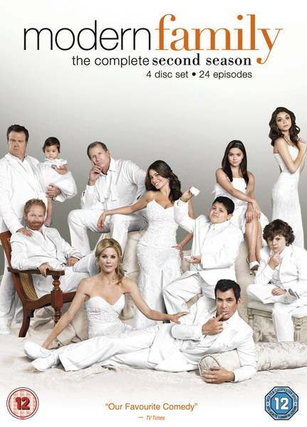 modern family season 2 dvd zavvi