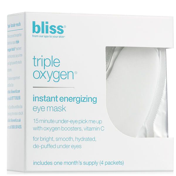 bliss Triple Oxygen Instant Energizing Eye Mask (4X 5.5ml)