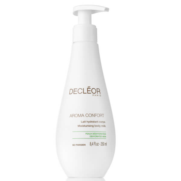 Émulsion corporelle hydratante et raffermissante Aroma Confort DECLÉOR (250 ml)