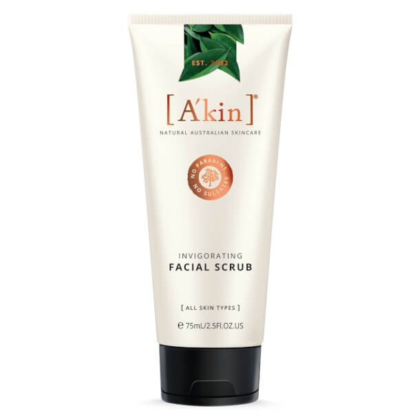 A'kin Invigorating Facial Scrub 75ml