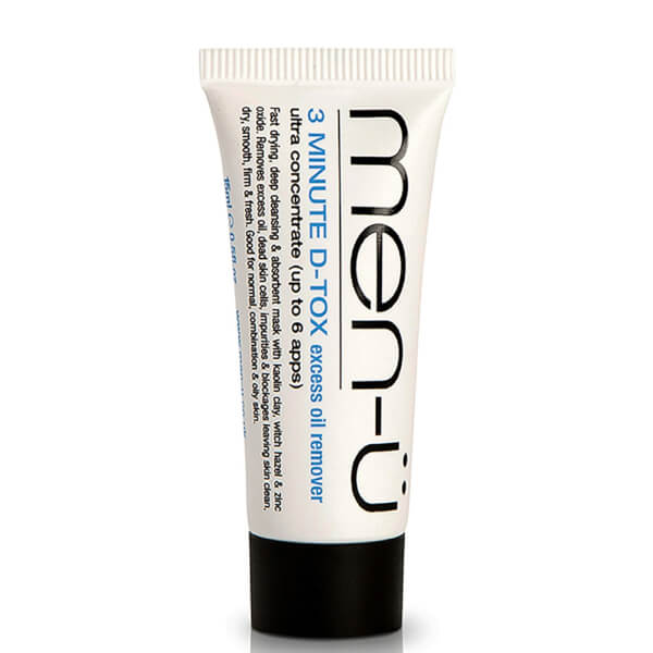 men-ü Buddy D-Tox Deep Clean Clay Mask Tube (15ml)