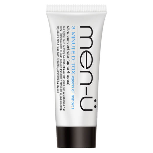 Tube de masque à l'argile Deep Clean D-Tox Buddy men-ü (15 ml)