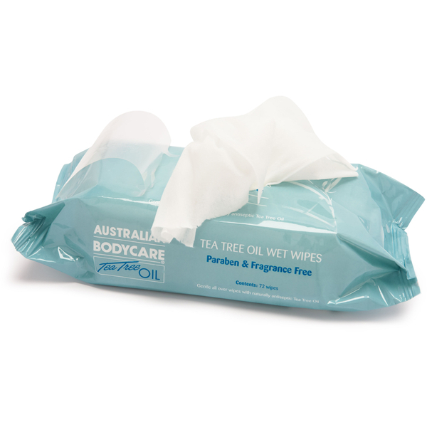 Australian Bodycare Eco Wipes (72 Pack)