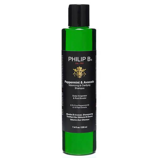 Shampoing Philip Bvolumisant et clarifiant menthe poivrée etAvocat(220ml)
