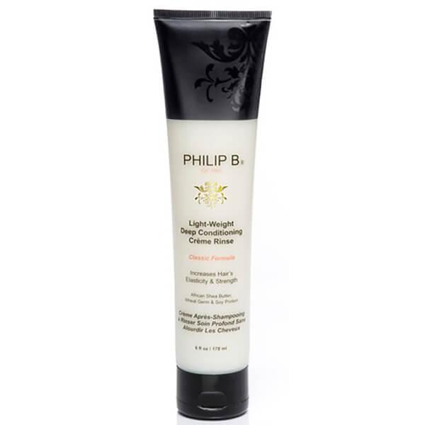 PHILIP B LIGHT-WEIGHT DEEP CONDITIONING CREME RINSE PARABEN FREE FORMULA (6 oz.)