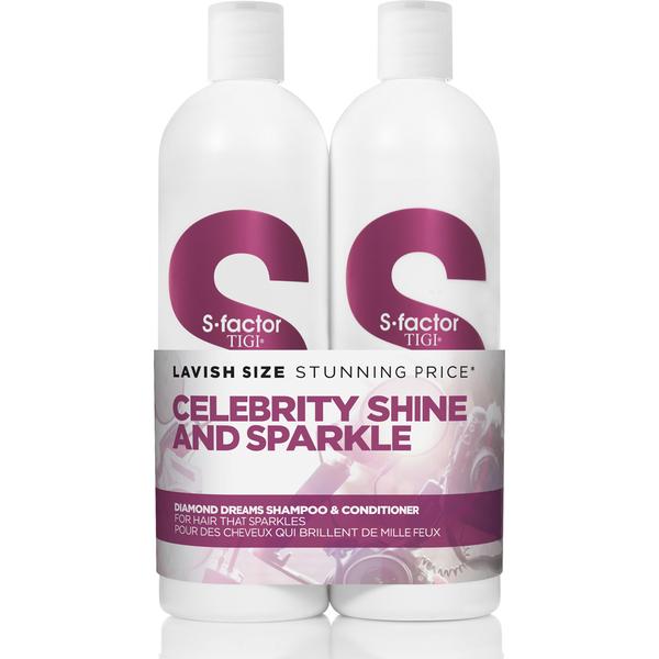 TIGI S-Factor Diamond Dreams Tween duo shampooing et après-shampooing