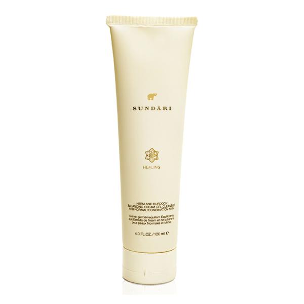 Sundari Neem & Burdock Balancing Cream-Gel Cleanser (120ml)